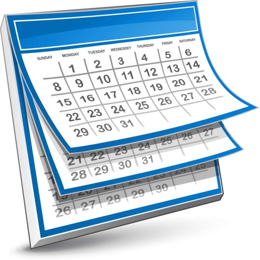Lịch làm việc tuần từ 27/4/2020 - 1/5/2020
